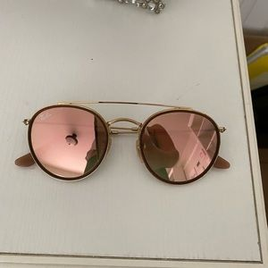 Ray ban sunglasses-ROUND DOUBLE BRIDGE